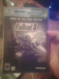 Fallout 3 game of the year edtion both disks Beaumont, 77701
