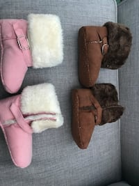 Baby boots new both for $8