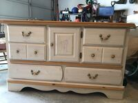white and brown wooden dresser Columbia, 21044
