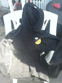 black and white zip-up hoodie Surrey, V3T 5T4