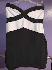 Black and white strapless Dress size 3x Dearborn Heights, 48127