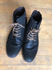 Black Leather Boots (size 7.5 men's) Halifax, B3H 1M9