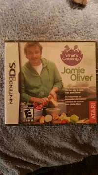 Nintendo DS cooking with Jamie Oliver Oshawa, L1G 7X3