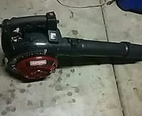 red and black Craftsman leaf blower