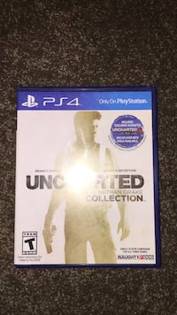 Sony PS4 Uncharted game case