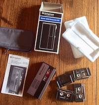 Dictaphone, Case and Tapes