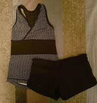Lululemon tank top and running shorts  Guelph, N1H 7H8