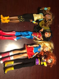 Dc super hero girl dolls Montague, 07827