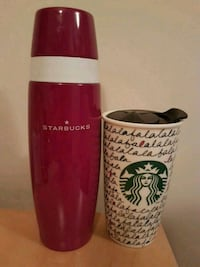 Starbucks thermos & xmas cup Winnipeg, R2H 0P7
