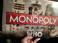 50th. Anniversary Dr. Who Monopoly NEVER BEEN OPENED Goose Creek, 29445