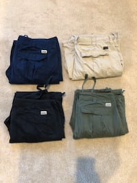Sean John Cargo Pants Size 42 All 4 for $100 OBO Laurel, 20707