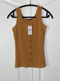 Buttoned Tank