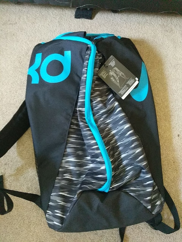 94412fa662b6 Used black and teal Kevin Durant backpack for sale in Victoria - letgo
