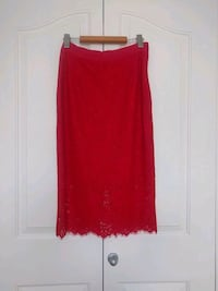Red Lace Skirt Calgary, T2P 1M1