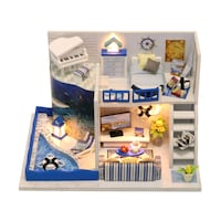 3D Puzzle doll house with furniture kit and lights Mississauga, L5W 1V9