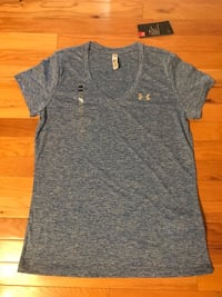 Under armour T blue brand new 欢乐谷, 97086