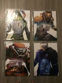Limited Edition Anthem poster of 4 set from EAPlay West Carson, 90710