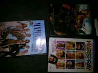 two assorted DVD movie cases St. Albert, T8N 1L1