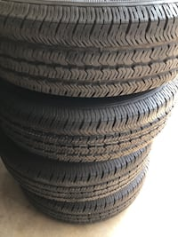 5 Jeep Tire's and rims Whittier, 90606