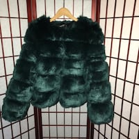 Green Fur Coat New York, 10466