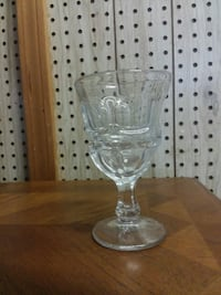 clear footed glass cup Fayetteville, 72703