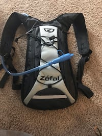 Zefal water backpack used twice
