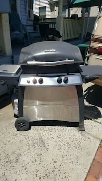 brown and black gas grill Bridgeport