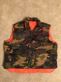 LIKE NEW~Reversible Hunter Camo Vest XXL