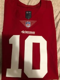 niner authentic jersey #10  Salinas, 93905