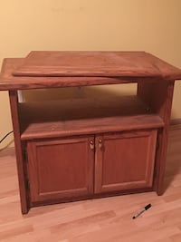 Brown wooden cabinet with shelf Maple Valley, 98038