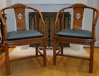 Matching set of accent chairs RESTON