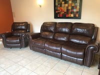 Recliners set (sofa & chair) Carol Stream, 60188