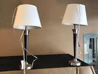 Table lamps x2 3720 km