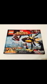 Lego Marvel Super Heroes Guardians of the Galaxy Starblaster Showdown #76019 New Sealed Dallas, 75254
