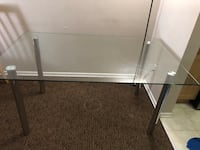 Dining table, glass, 4-6seater, only table Winnipeg, R2X 2J5