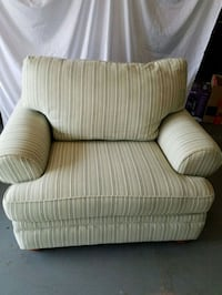 white and gray striped sofa chair Winchester, 22602