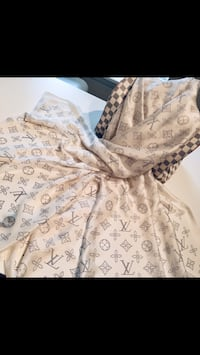 Louis Vuitton Women Luxury Designer White Scarf Falls Church, 22042