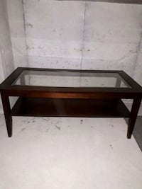 rectangular brown wooden coffee table Whitby, L1R 0H8