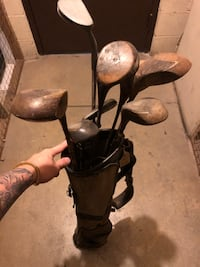 Vintage Golf Clubs and Bag Arlington, 22209
