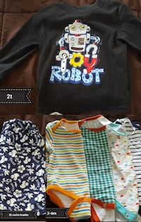 toddler's assorted clothes Virginia Beach, 23455