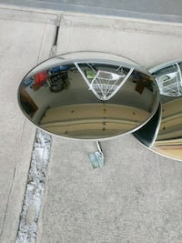 Mirror for security or driveway