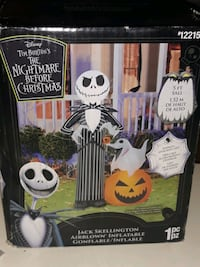 the Nightmare before christmas airblown inflatable.