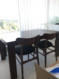 1 year old Solid Wood Dining table Burnaby