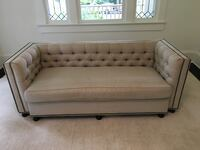 High End Furniture: Daryl Carter Sofa/chairs; Caligaris table; antique table; arm chair; linen sectional Arlington, 22201