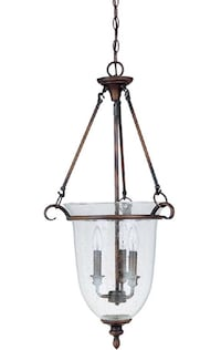 Clear pendant lamp new