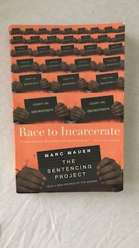 Race to Incarcerate book by Mark Mauer