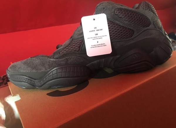 1c3cd9231979d Used Yeezy 500 Utility Black size 11 for sale in Clifton - letgo