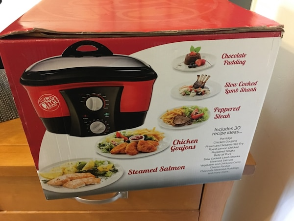 red and black slow cooker box