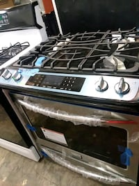 Frigidaire gallery stainless steel stove gas brand 75 km