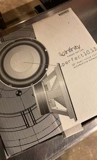 Infinity Kappa Perfect 10.1D Subwoofer